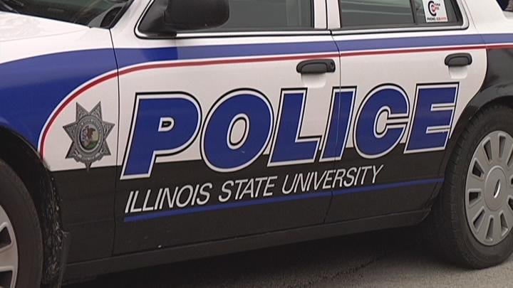ISU POLICE CAR Caption