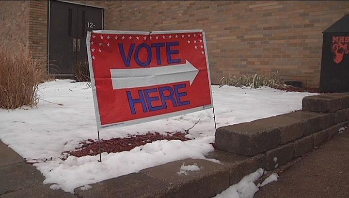 polling places Caption