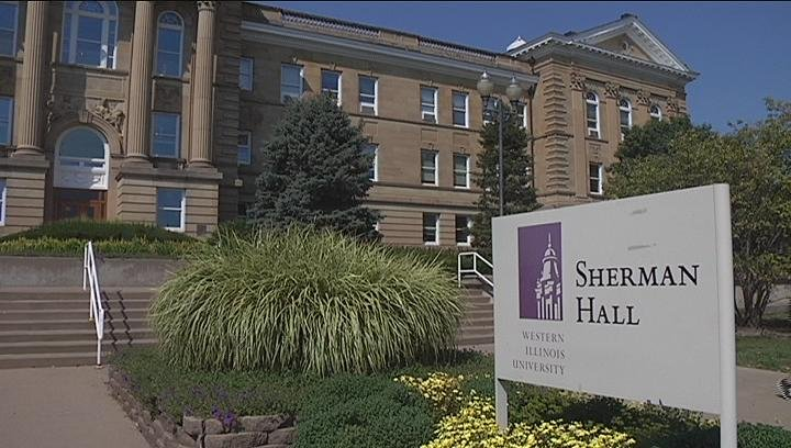 Western Illinois University's Sherman Hall