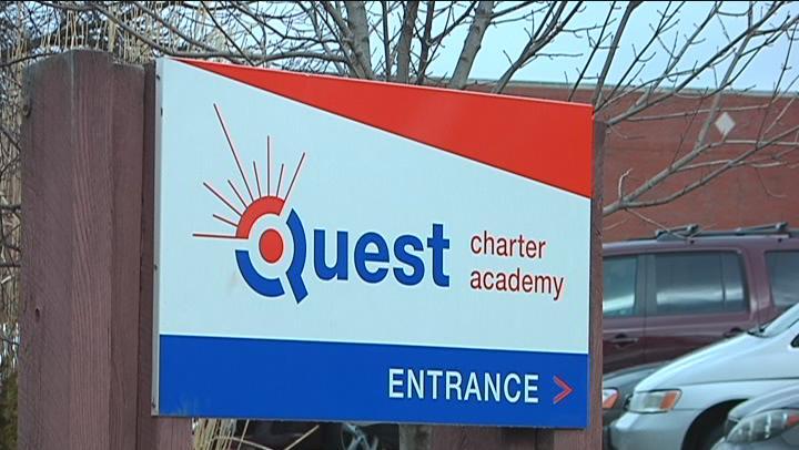 QUEST CHARTER SIGN 16 X 9 Caption