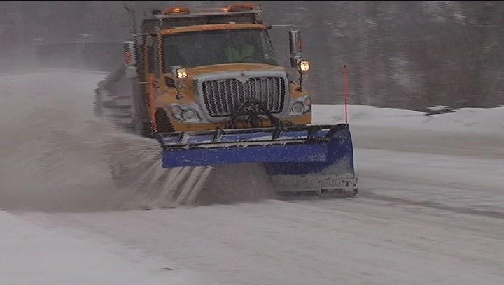 FILE PHOTO: Snow plow