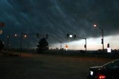 severe storm Caption