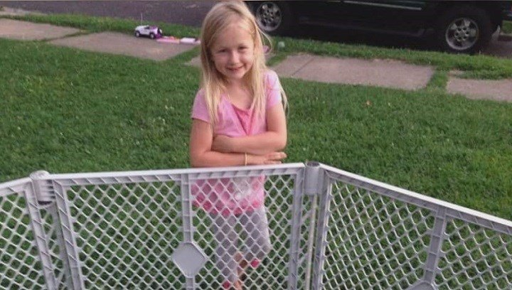 8 Year Old Haylee Garrison is in critical condition after an accidental shooting