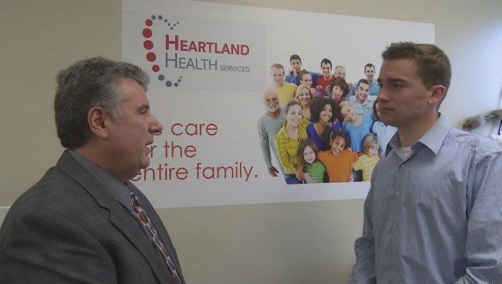 CEO Charles Bandoian says Heartland would have to make tough decisions on how to fund an influx of uninsured patients if the bill is passed.