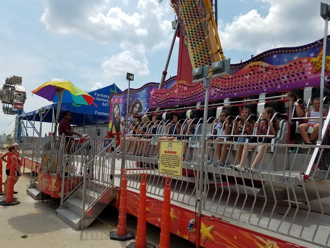 Each ride at the McLean Co. Fair undergoes several inspections by different entities before they are given the green light.