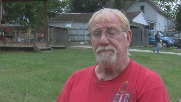 Ed Tarpley breaks silence, after garbage is removed from his driveway
