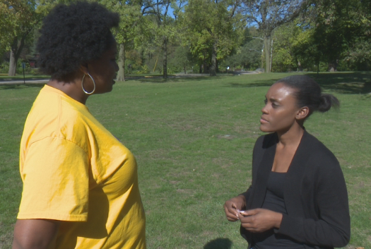 Two of the Black Justice Project's founders chatting about what's ahead for the coalition