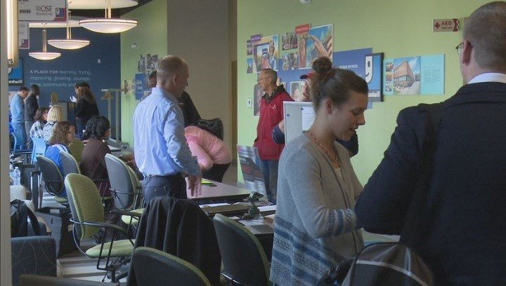 Goodwill of Central Illinois holds monthly job fairs for both the unemployed and underemployed across a vast array of fields.