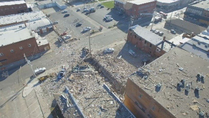 Canton's historic opera house was severely damaged and eventually demolished - but new construction may soon take its place.