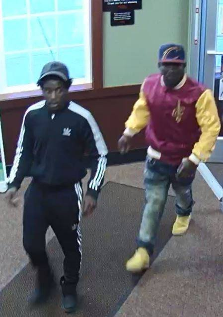 The two suspects wanted in connection with the March 18, 2018 melee at the Peoria Golden Corral.