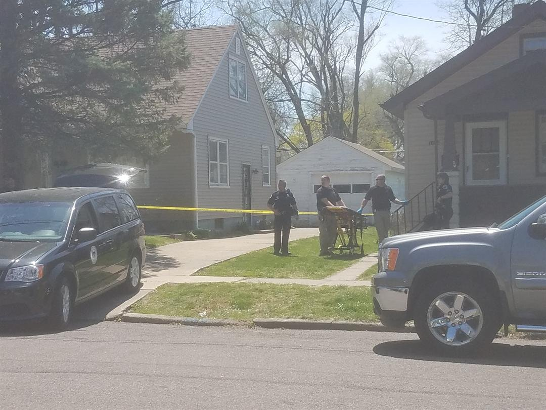 The Peoria County Coroner has arrived on scene after a body was found in a house on W. Virginia Ave.