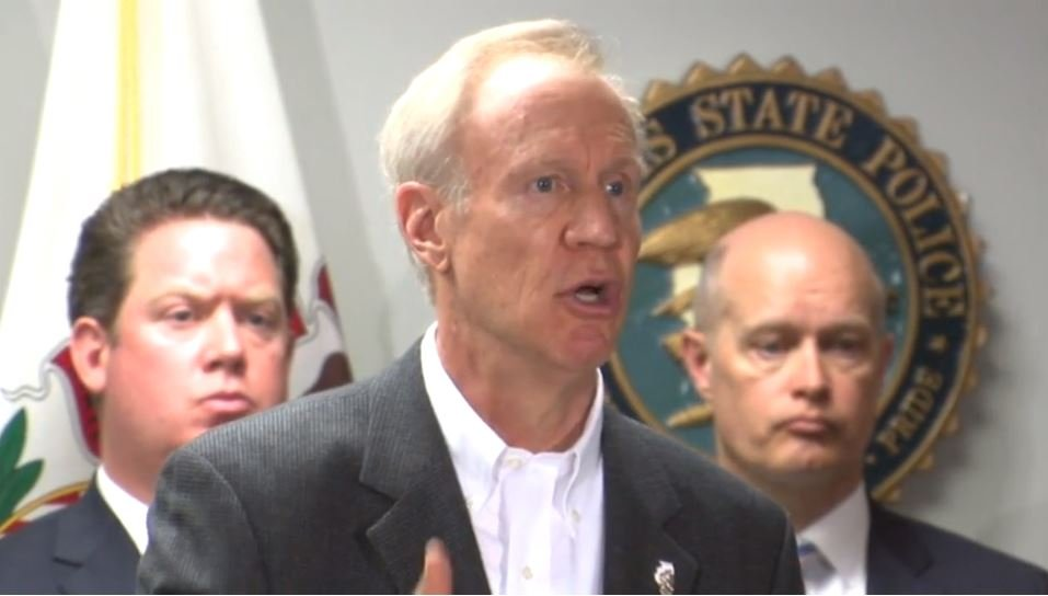 Rauner unveils plan on gun control and partial death penalty re-instatement