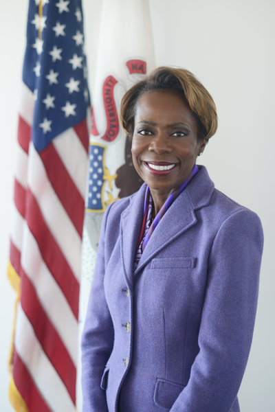 Director of Healthcare and Family Services, Felicia Norwood