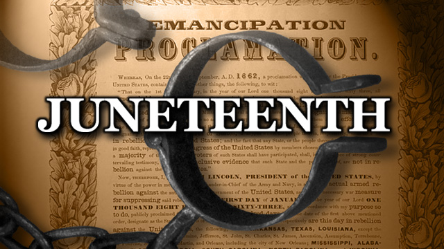 Juneteenth is the celebration of freedom