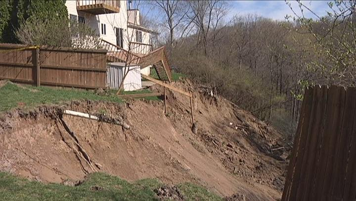 East Peoria Landslide